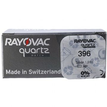 Rayovac 396 SR726SW 1.5V Silver Oxide Watch Battery
